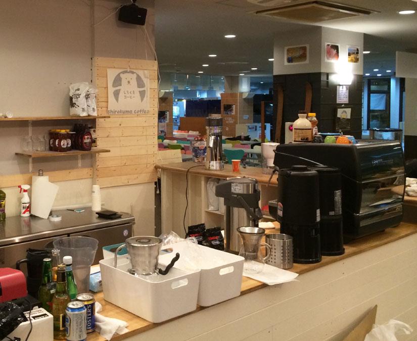 小樽にあるカフェ