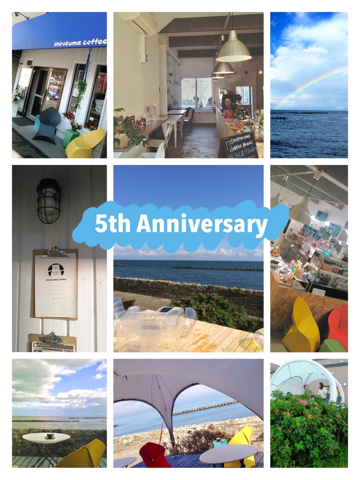 5th ANNIVERSARY and Web store OPEN!!